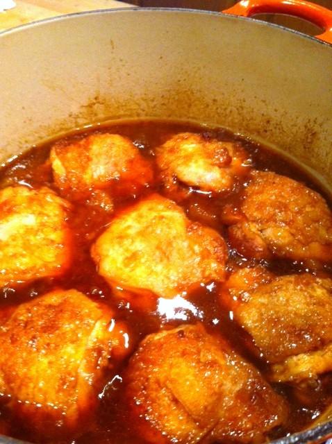 Chicken With Peach Amp Bourbon Bbq Sauce Blythe S Blog
