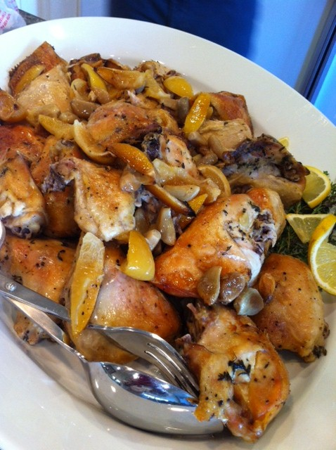 Slow Roasted Garlic and Lemon Chicken | Blythe's Blog
